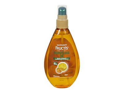 Garnier Skin and Hair Care Fructis Marvelous Oil Color Illuminate 5 Action Hair Elixir for Color Treated Hair, 5 Fluid Ounce
