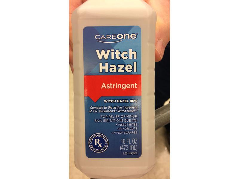 CareOne Witch Hazel Astringent, Witch Hazel 86%, 16 fl oz
