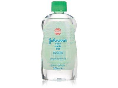 Johnson's Baby Oil, Aloe Vera, 300 mL