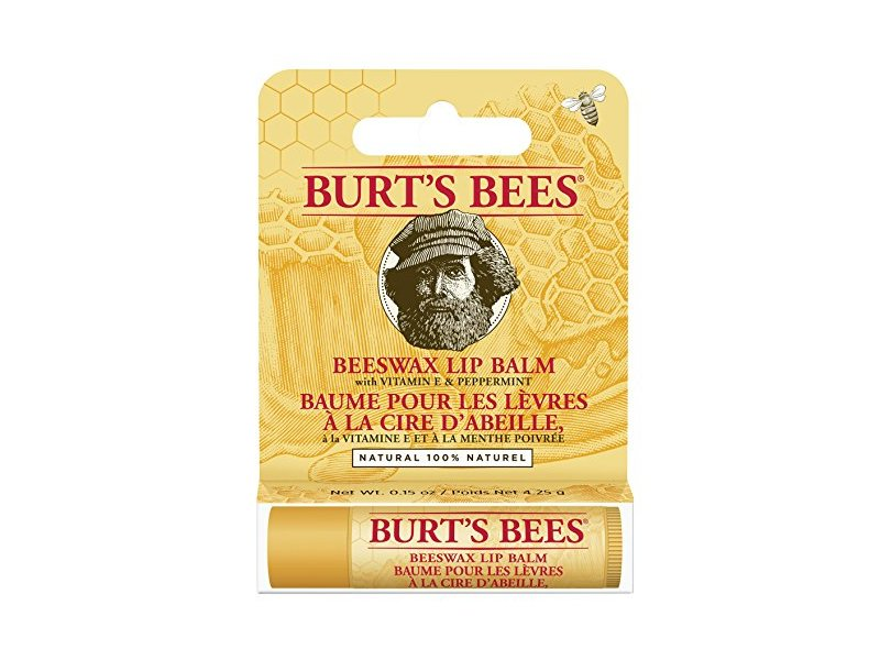 Burts Bees Beeswax Lip Balm Tube, .15 oz