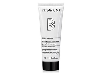 Dermablend Makeup Remover Dissolver for Face and Body, 3.4 fl oz/100 mL