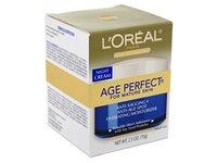 L'Oreal Dermo Exp Cream Night Age Perfect, 2.5 Oz - Image 2