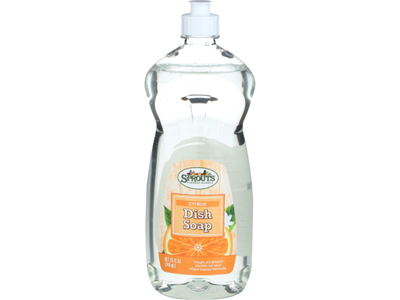 Sprouts Citrus Dish Soap, 25 fl oz
