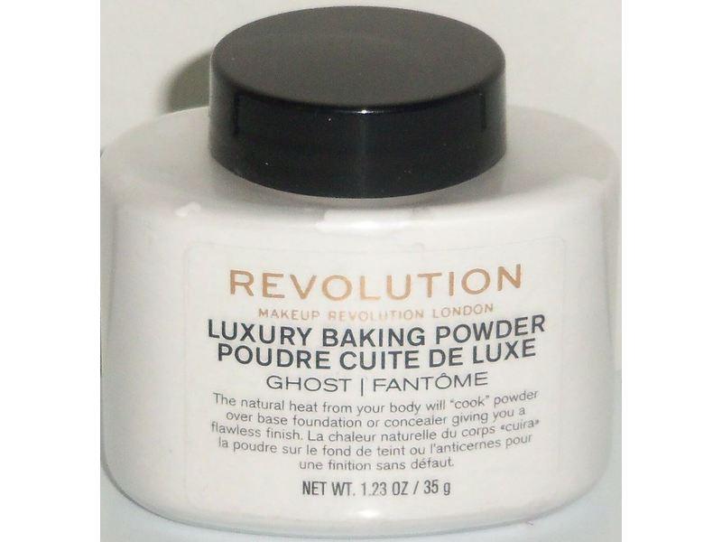 Makeup Revolution Luxury Baking Powder, Ghost, 1.23 oz