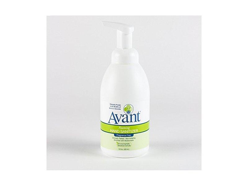 Avant Foaming Fragrance-Free Instant Hand Sanitizer, 18 oz