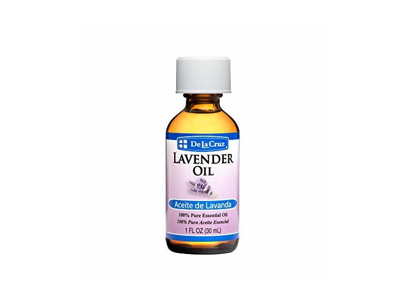 De La Cruz Pure Lavender Essential Oil, 1 fl oz