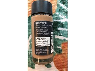 Neutrogena Shine Control Liquid Makeup, Natural Beige Shade, 1 fl oz - Image 4