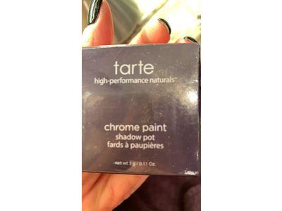 Tarte Cosmetics Chrome Paint Shadow Pot, Fire Dancer, .11 oz - Image 3