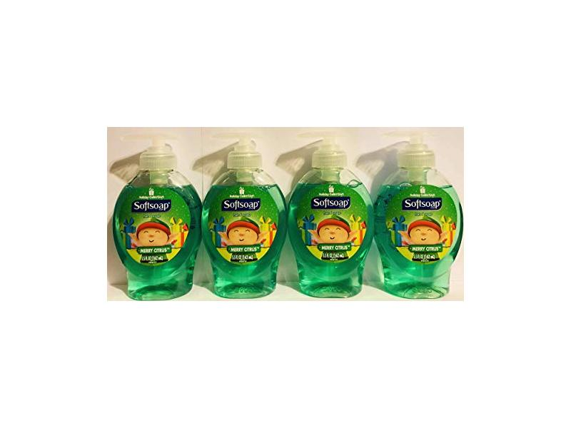 Softsoap Hand Soap Holiday Collection, Merry Citrus, 5.5 FL OZ