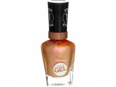 Sally Hansen Miracle Gel Nail Color, Metallics Shhhh-Immer, 0.5 oz