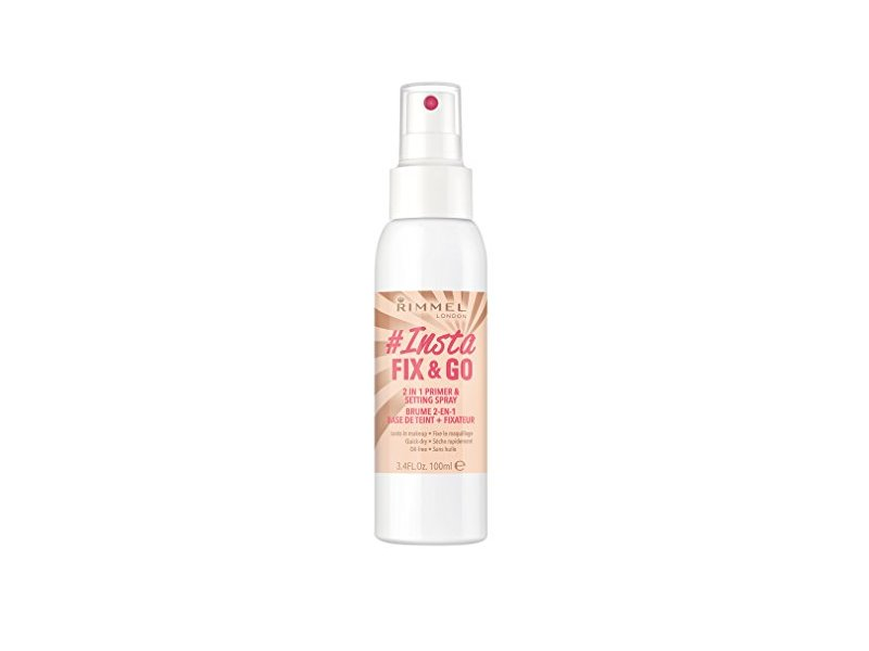 Rimmel London Insta Fix and Go Setting Spray, 100 ml
