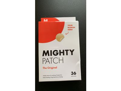 Mighty Patch Original - Hydrocolloid Acne Absorbing Pimple Patch (36ct) - Image 3