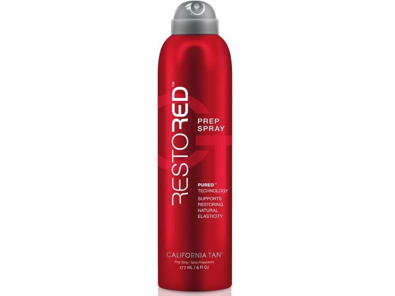 California Tan Restored Prep Spray Red Light Therapy, 6 fl oz