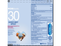CVS Health Sheer Mist Sunscreen SPF 30 - Image 3