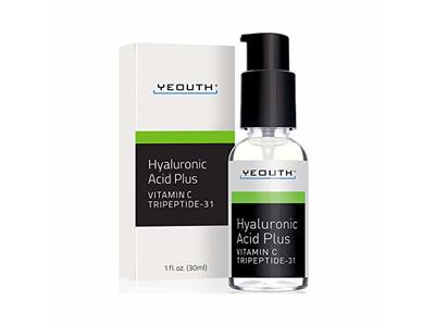 YEOUTH Best Anti Aging Vitamin C Serum with Hyaluronic Acid & Tripeptide 31 (1oz)