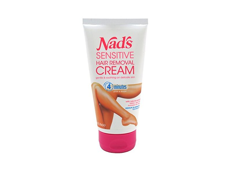 Nads Hair Removal Cream Sensitive, 5.1 Ounce