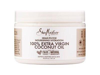 SheaMoisture 100% Extra Virgin Coconut Oil, 10.5 oz