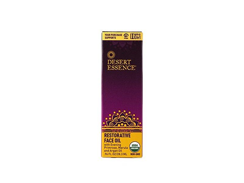 Desert Essence Restorative Face Oil, 0.96 fl oz/28.3 mL