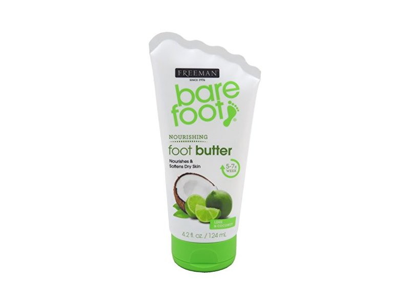 Freeman Bare Foot Butter Lime + Coconut, 4.2 Ounce