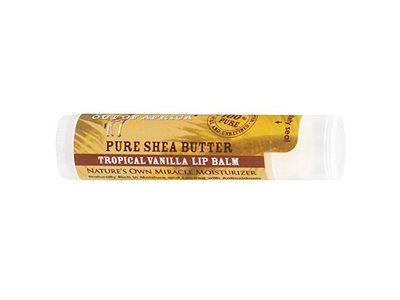 Out Of Africa - Pure Shea Butter Lip Balm Tropical Vanilla, 0.15 oz.