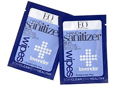 EO Hand Sanitizer Wipes - Lavender, 6 Count