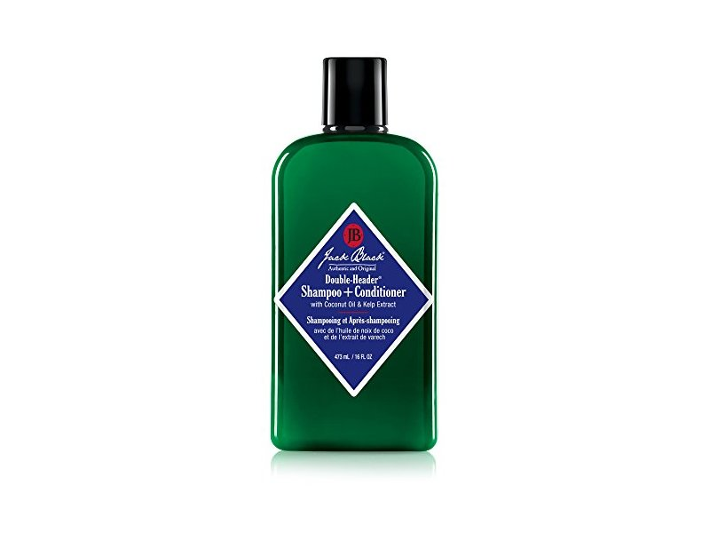 Jack Black Double-Header Shampoo + Conditioner, 16 fl oz
