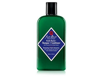 Jack Black Double-Header Shampoo + Conditioner, 16 fl oz - Image 1