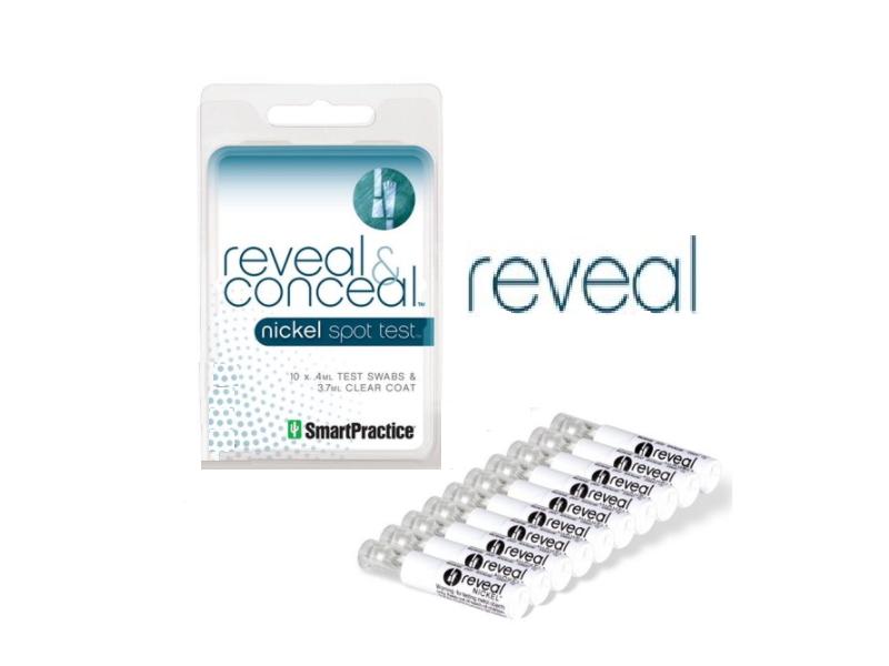 Reveal Nickel Allergy Spot Test, 4ML Swabs (10 count)