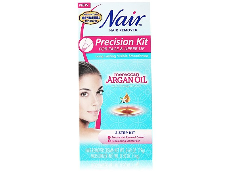 Nair Precision Face Upper Lip Hair Remover Kit 0 69 Oz