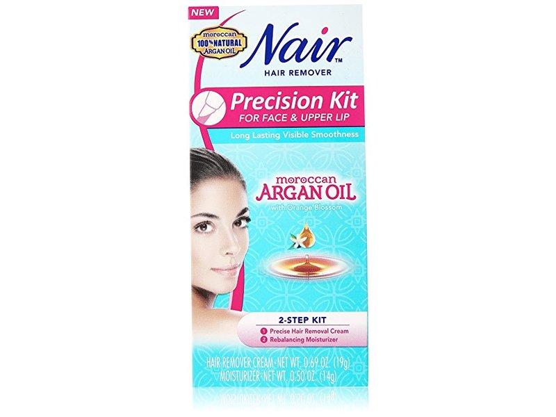 Nair Precision Face & Upper Lip Hair Remover Kit, 0.69 oz