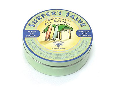 Island Soap & Candle Works Surfer's Salve, Original, 4 oz