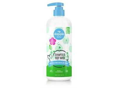 Dapple Baby Shampoo & Body Wash, Sweet Apple, 16.9 fl oz