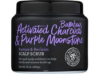 Not Your Mother's, Activated Bamboo Charcoal & Purple Moonstone Scalp Scrub, 10 Ounce
