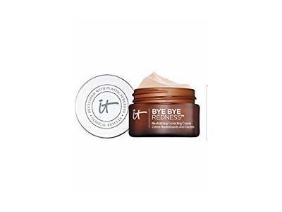 It Cosmetics Bye Bye Redness Neutralizing Correcting Cream, Light Beige, 0.37 fl oz