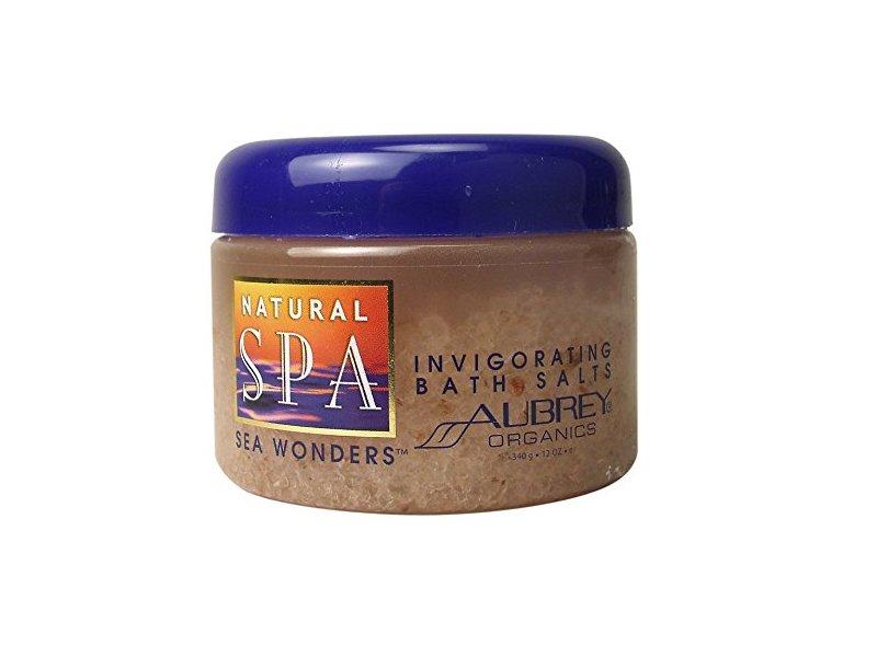 Aubrey Organics Natural Spa Sea Wonders Invigorating Bath Salts