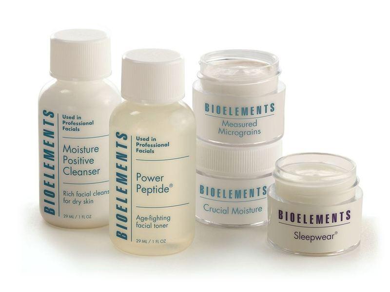 Bioelements Travel Light Essential Weekend Kit, Dry Skin, 5 ct
