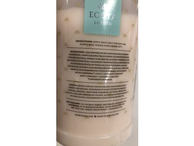 Ecoya Lotus Flower Hand Body Lotion 169 Fl Oz Ingredients And