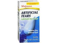 Walgreens Artificial Tears Lubricant Eye Drops, .5 oz - Image 2
