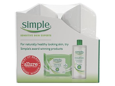 Simple Sensitive Skin Experts Micellar Wipes, Twin Pack, 25 Count - Image 5
