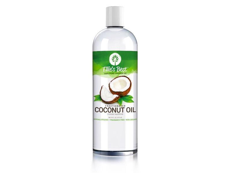 Ellie's Best Coconut Oil, 16 fl oz