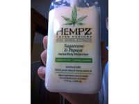Hempz Herbal Body Moisturizer, Sugarcane & Papaya, 17 Ounce - Image 3
