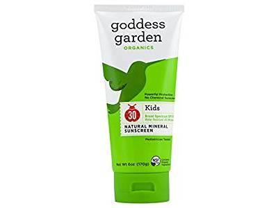 Goddess Garden Organics Kids SPF 30 Natural Sunscreen Lotion, 6 oz