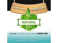FineVine Tea Tree Oil Foot Soak with Epsom Salt - Image 9