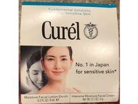 Curel Moisture Facial Lotion Enrich + Intensive Moisture Facial Cream, Enrich Set, 0.8 oz - Image 3