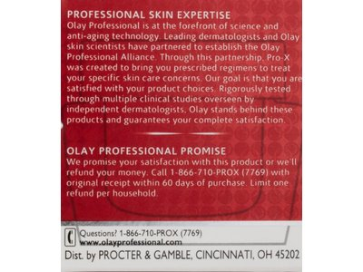 Olay Professional Pro-X Wrinkle Smoothing Cream Anti Aging 1.7 Oz - Image 5