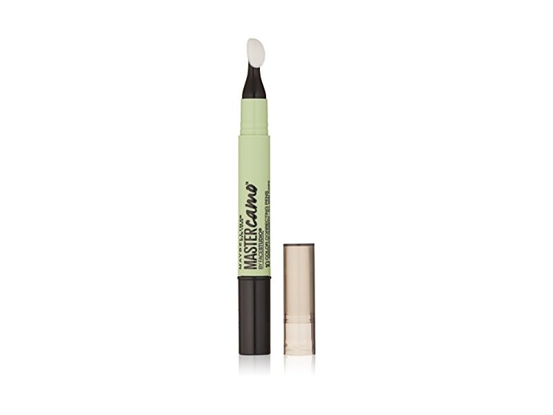 Maybelline Master Camo Color Correcting Pen, Green For Redness, 0.05 fl. oz.