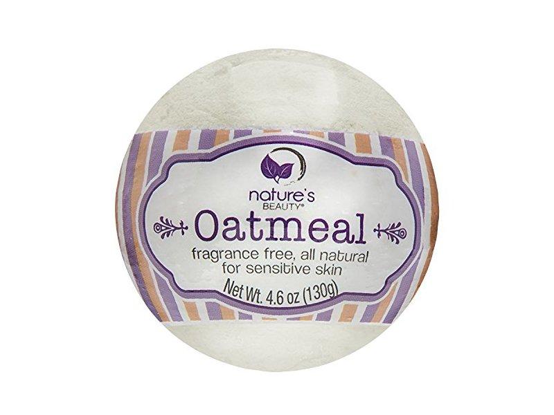 Nature's Beauty Oatmeal Bath Bomb, 4.6 oz