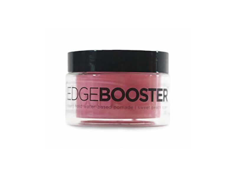 Style Factor Edge Booster Strong Hold Water-Based Pomade, Sweet Peach Scent
