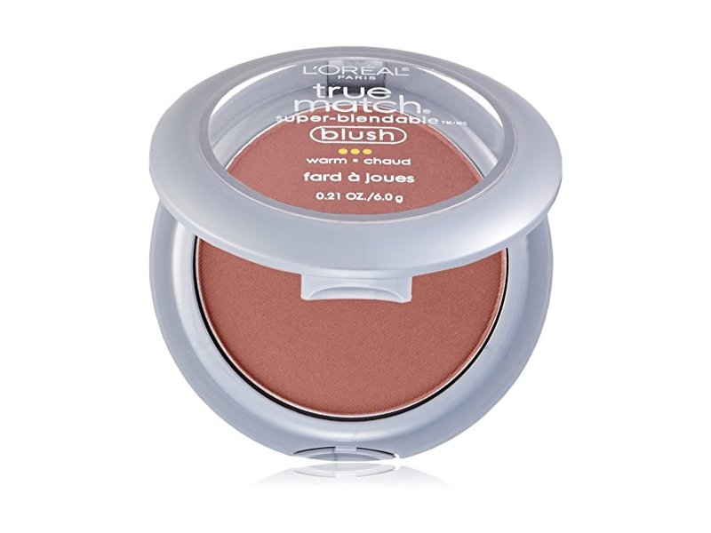 L'Oreal True Match Super-Blendable Blush, Warm Subtle Sable, 0.21 oz (Pack of 2)