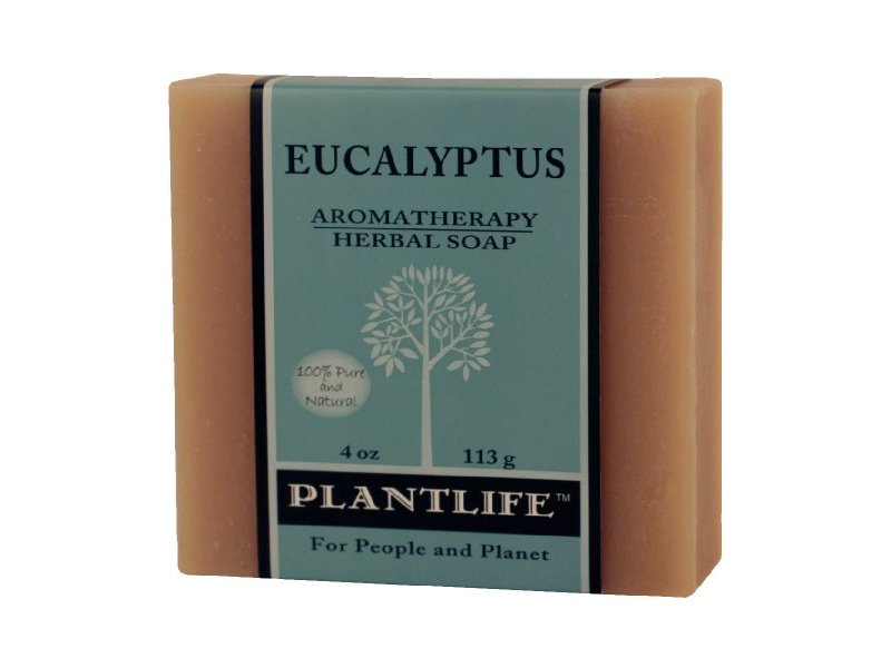 Plantlife Aromatherapy Herbal Soap, Eucalyptus, 4 oz
